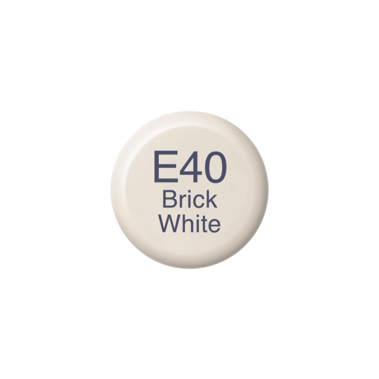 E40 Brick White, Copic Ink - 4511338056851