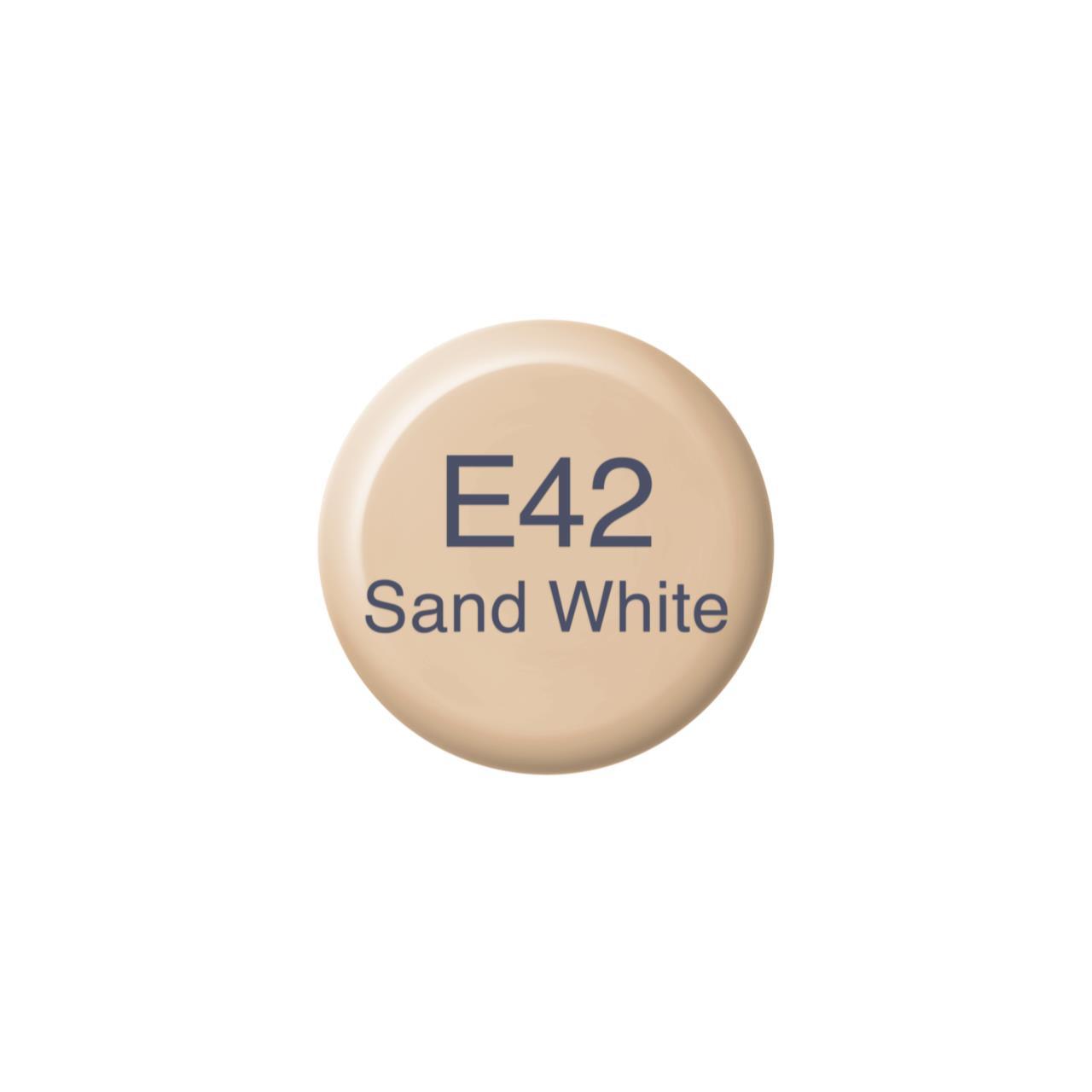 E42 Sand White, Copic Ink - 4511338056875
