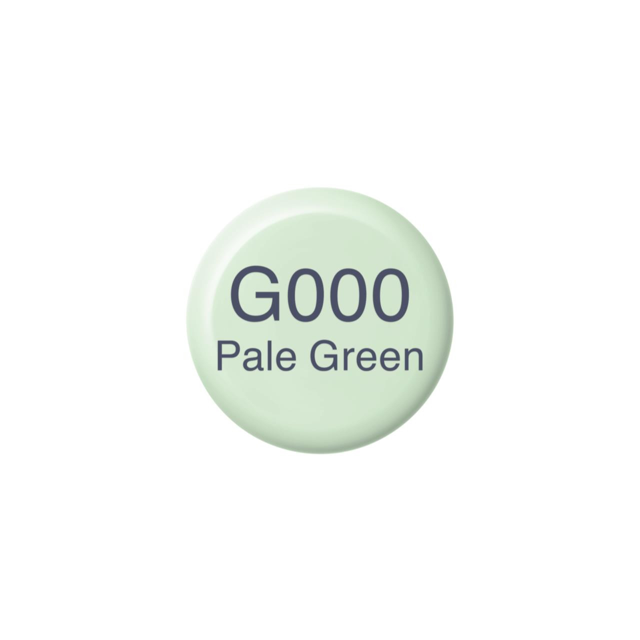 G000 Pale Green, Copic Ink - 4511338057124