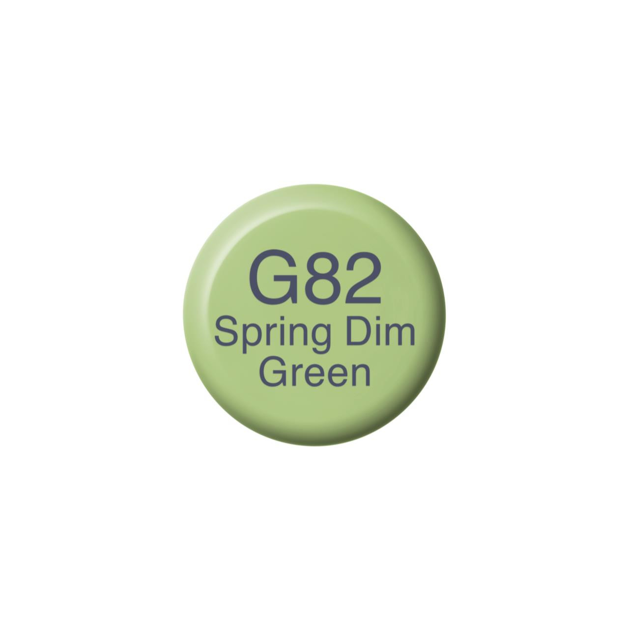 G82 Spring Dim Green, Copic Ink - 4511338057322