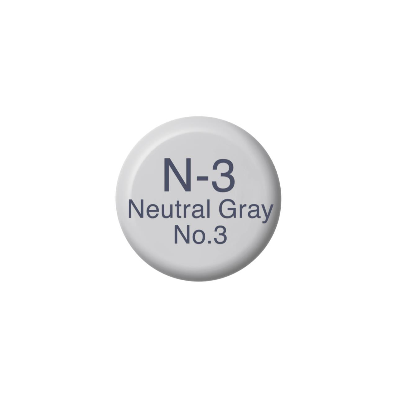 N3 Neutral Gray 3, Copic Ink - 4511338055465
