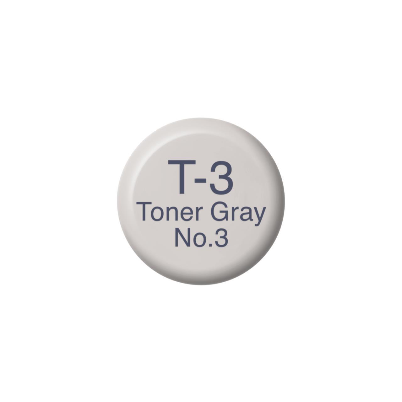 T3 Toner Gray 3, Copic Ink - 4511338055571