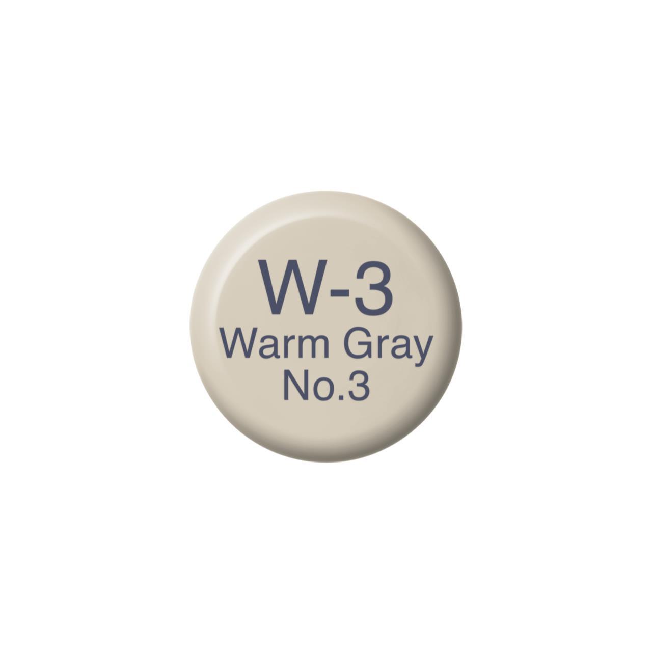 W3 Warm Gray 3, Copic Ink - 4511338055694