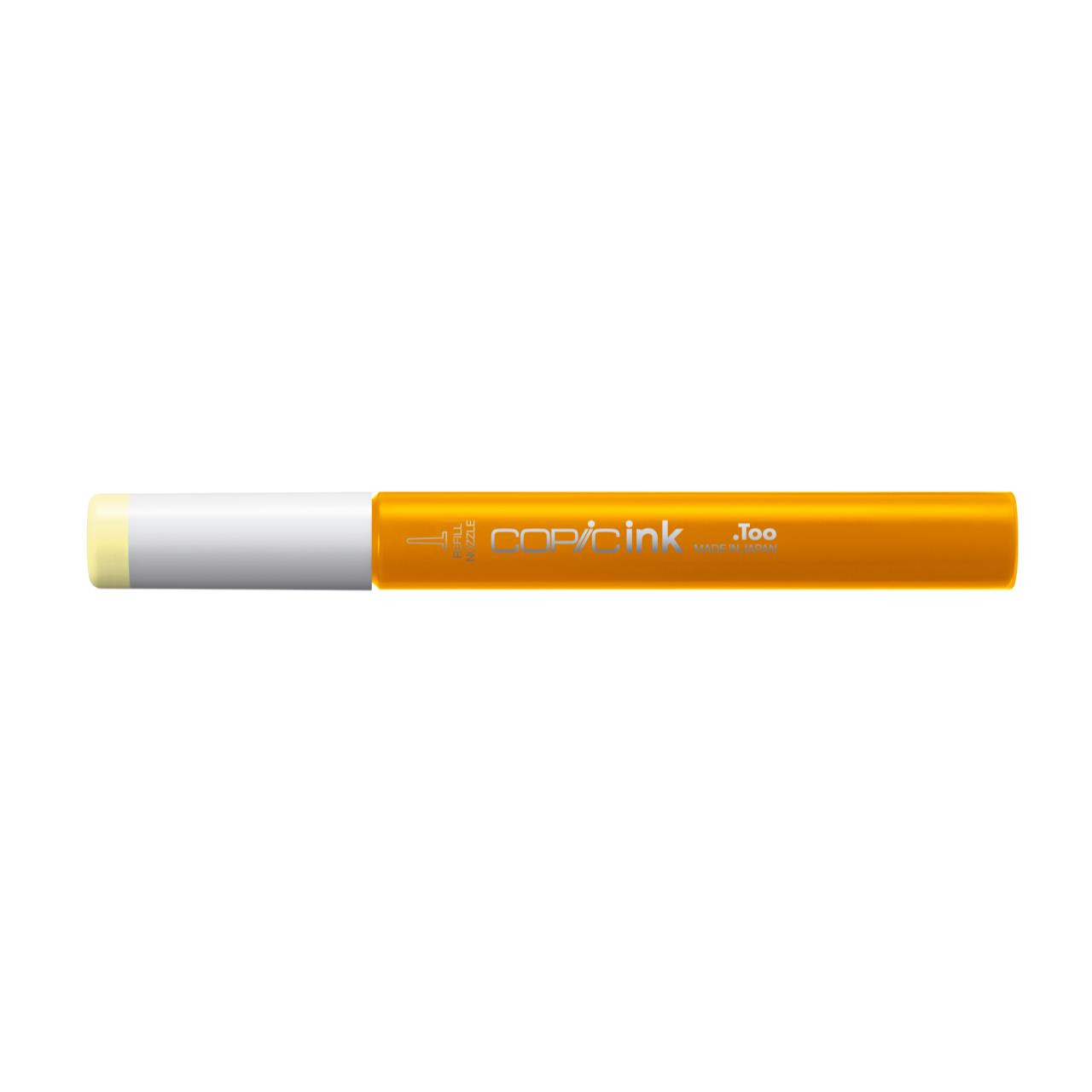 Y11 Pale Yellow, Copic Ink - 4511338058206