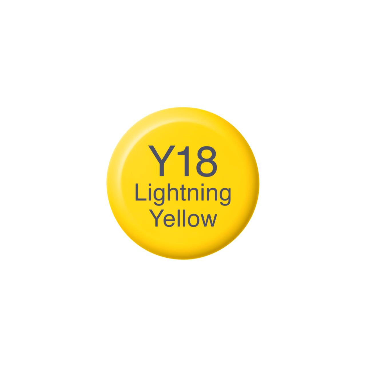 Y18 Lightning Yellow, Copic Ink - 4511338058244