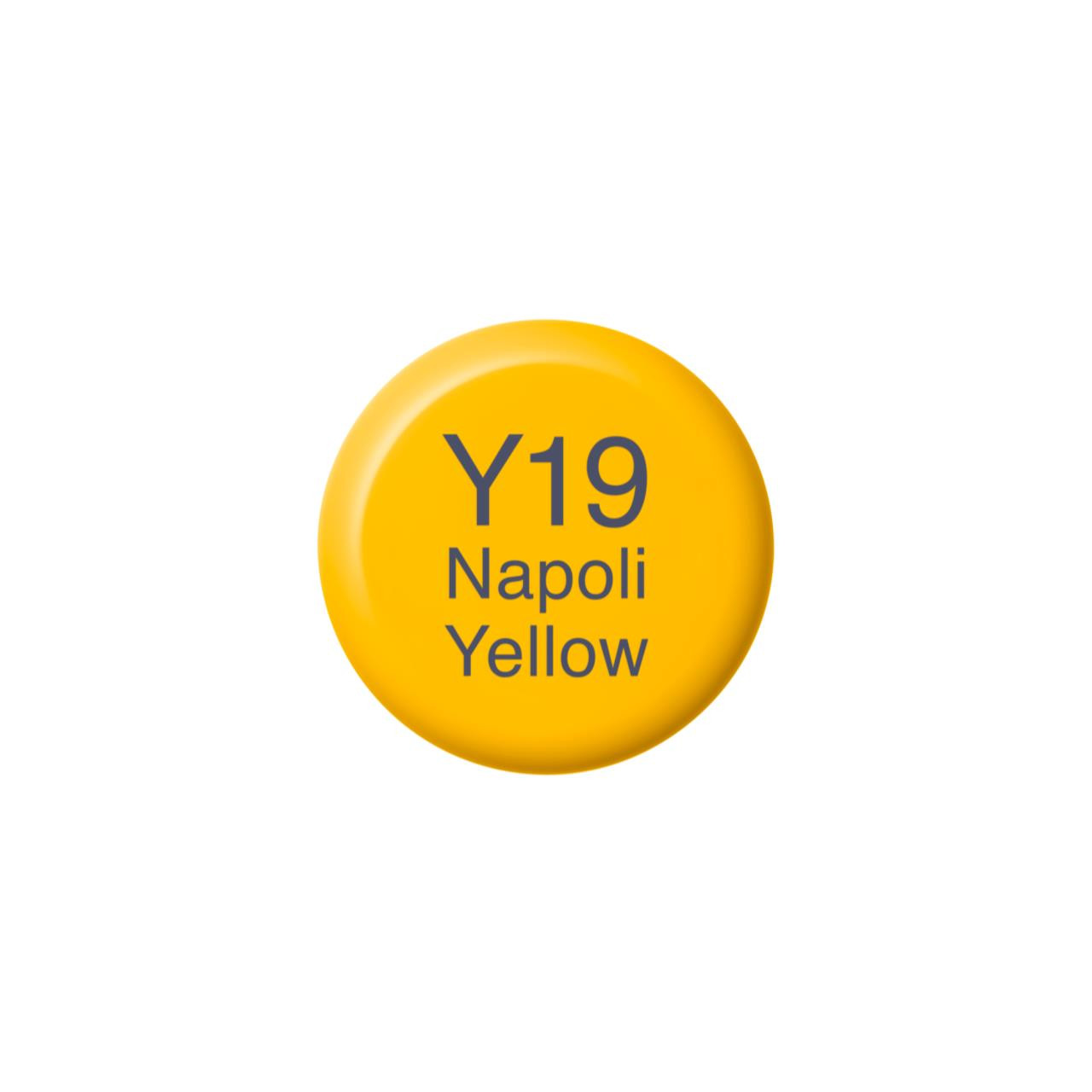 Y19 Napoli Yellow, Copic Ink - 4511338058251
