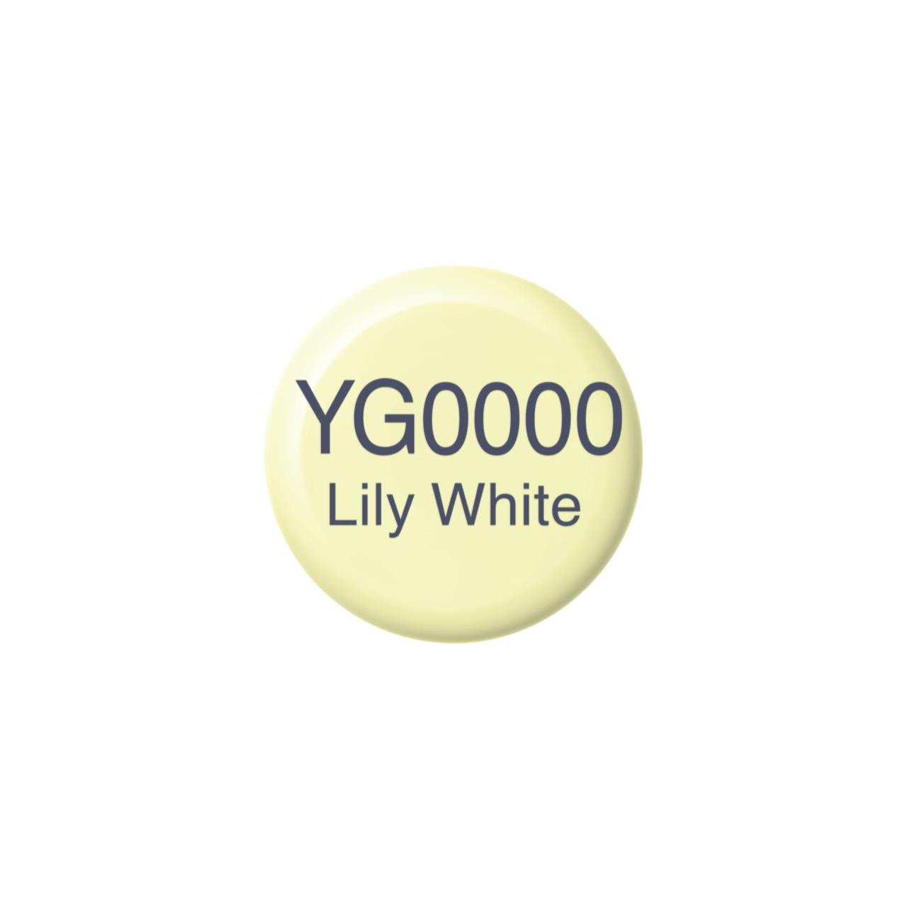 YG0000 Lily White, Copic Ink - 4511338058336