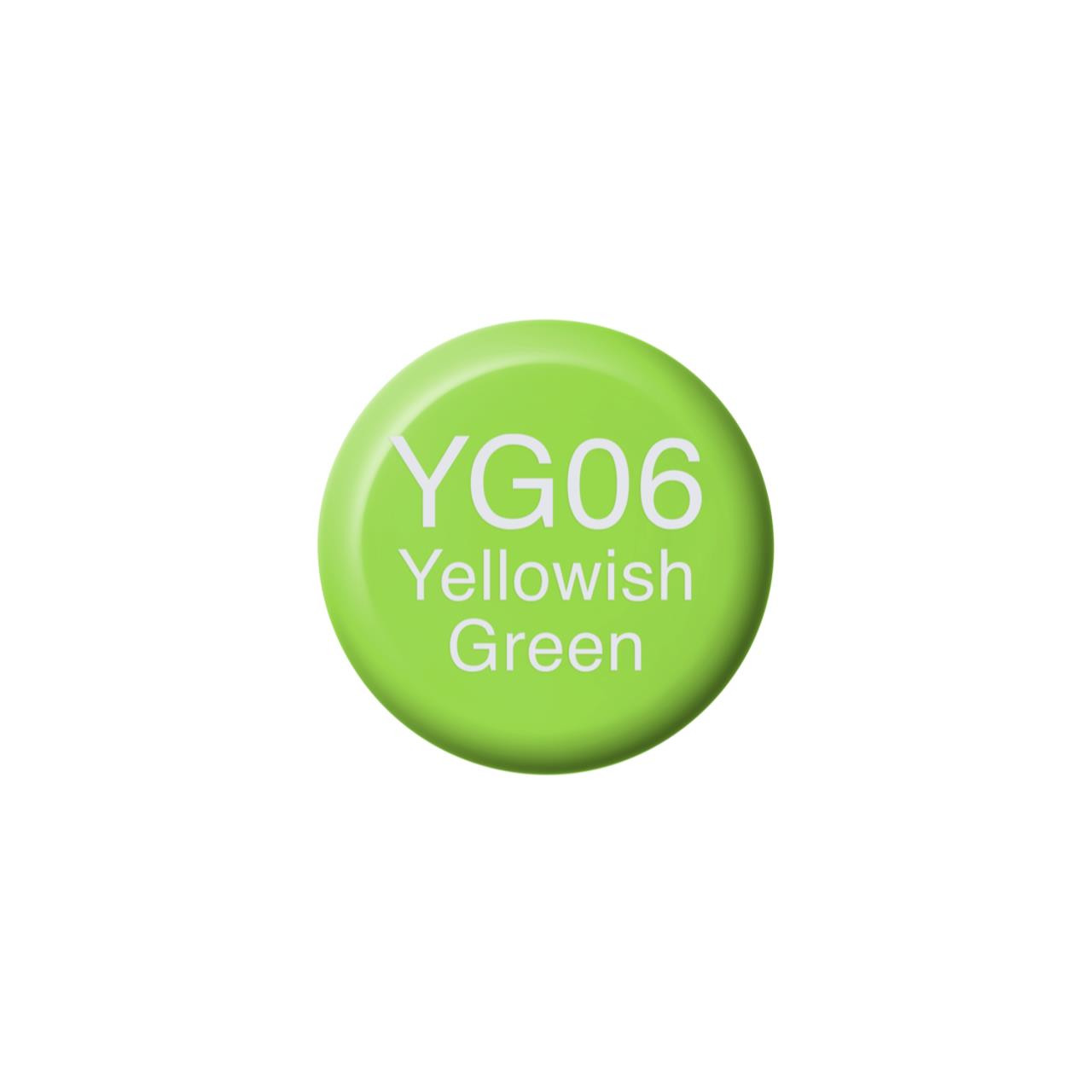 YG06 Yellowish Green, Copic Ink - 4511338058381