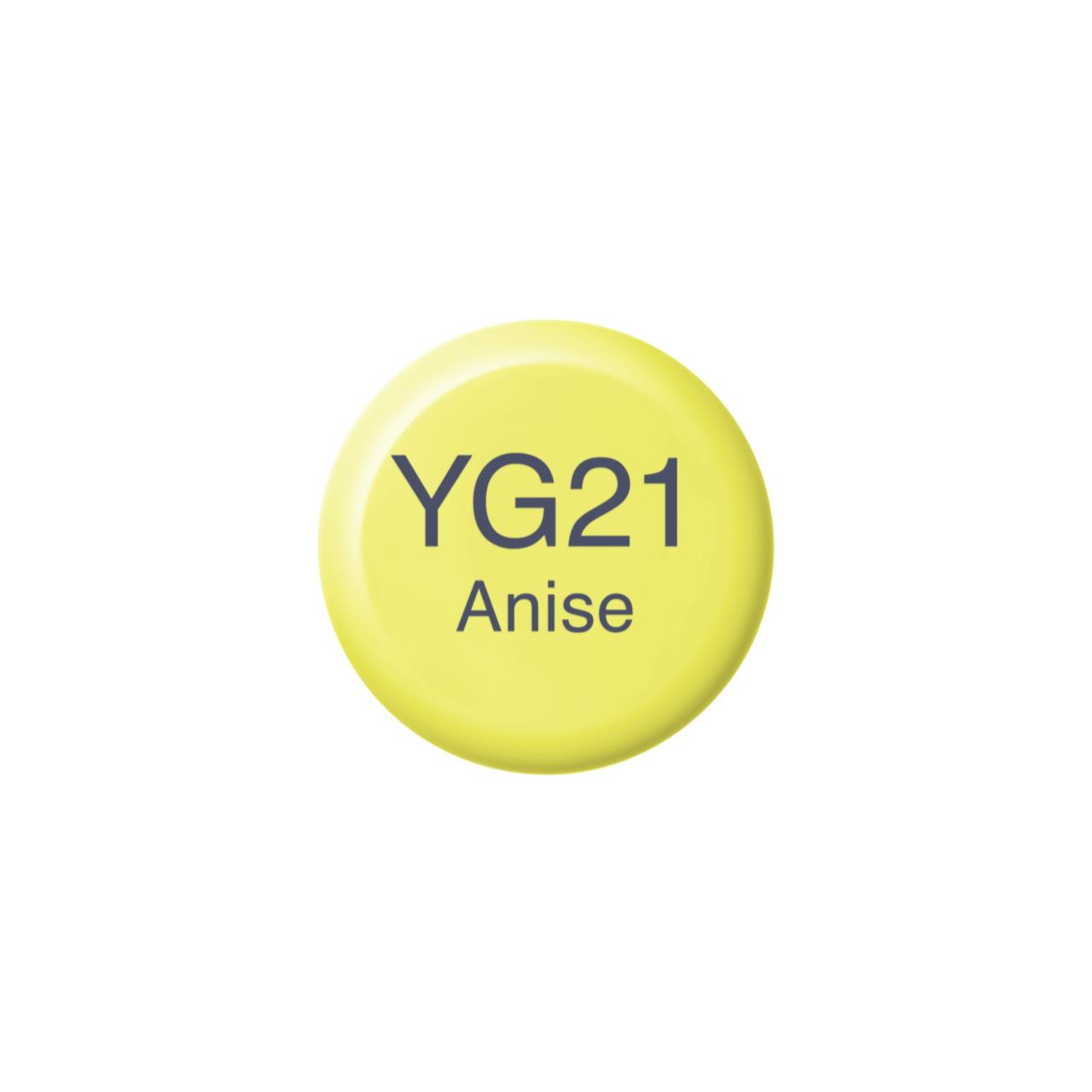 YG21 Anise, Copic Ink - 4511338058459