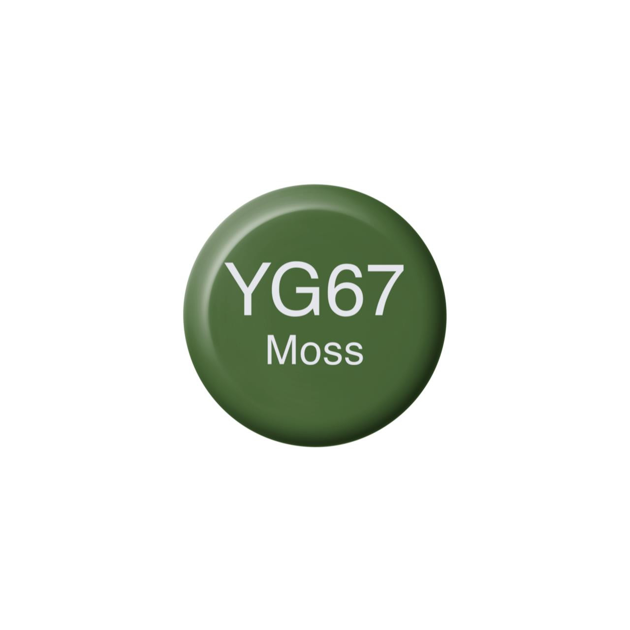 YG67 Moss, Copic Ink - 4511338058510