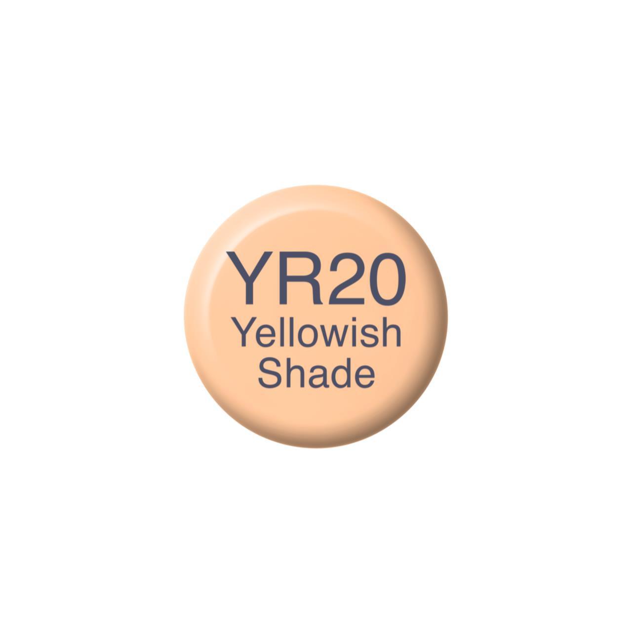 YR20 Yellowish Shade, Copic Ink - 4511338058701