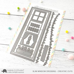 Slim Window Dressing, Mama Elephant Creative Cuts -