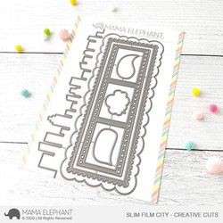 Slim Film City, Mama Elephant Creative Cuts -