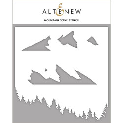 Mountain Scene, Altenew Stencils - 737787265246