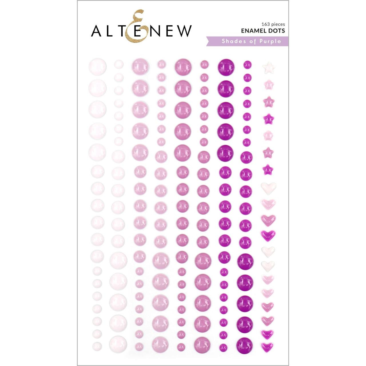 Shades of Purple, Altenew Enamel Dots - 737787258071