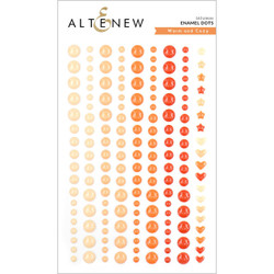 Warm and Cozy, Altenew Enamel Dots - 737787258095