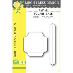 Small Square Base, Birch Press Design Dies -