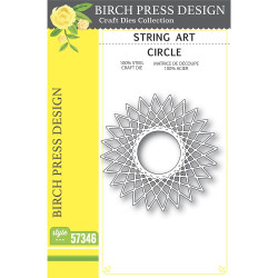 String Art Circle, Birch Press Design Dies -