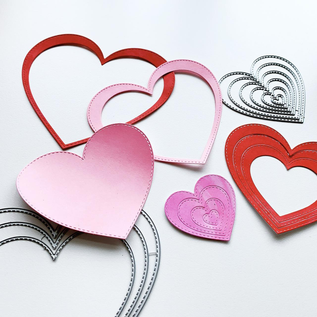 Nested Stitched Hearts, Catherine Pooler Dies -     819447027538