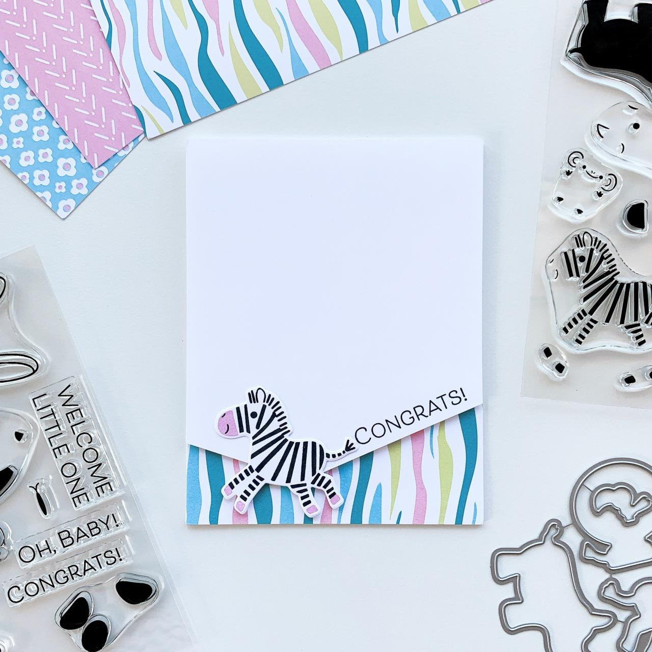 Born to Be Wild, Catherine Pooler Clear Stamps -    819447027088