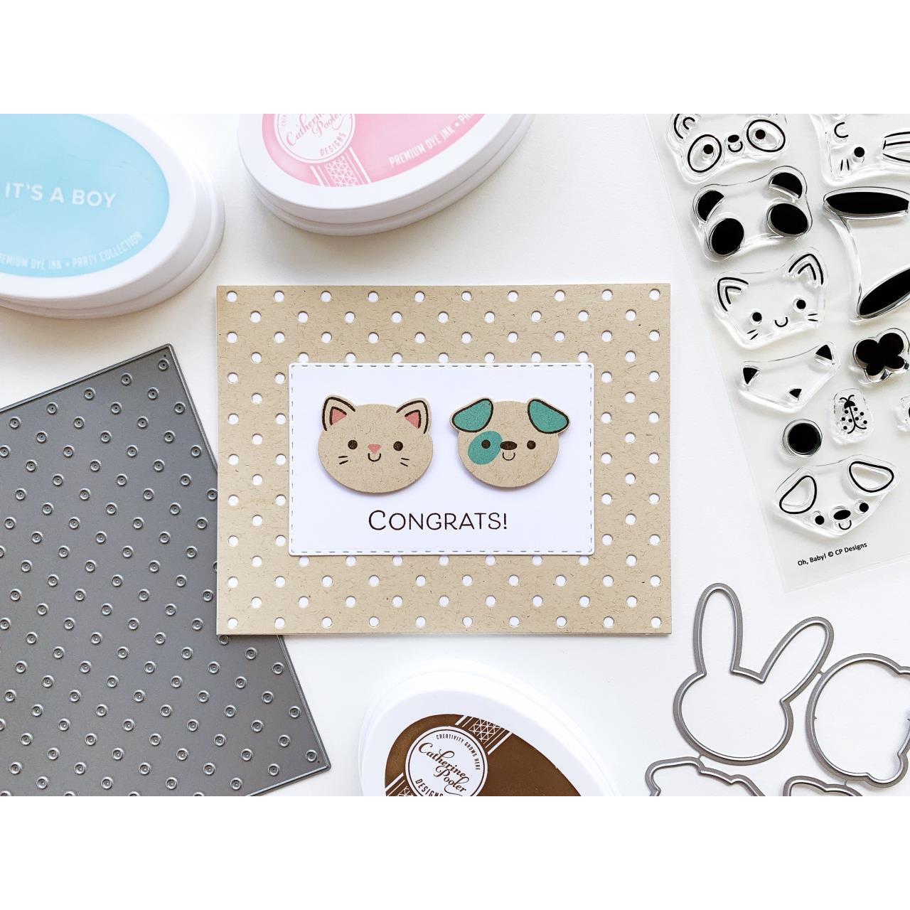 Oh, Baby, Catherine Pooler Clear Stamps -    819447027118