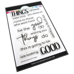 Be the Good Sentiments, Catherine Pooler Clear Stamps -     819447027422