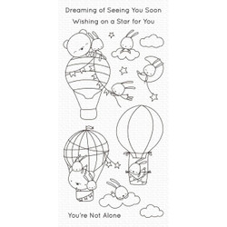 Sky-High Friends, My Favorite Things Clear Stamps - 849923036020