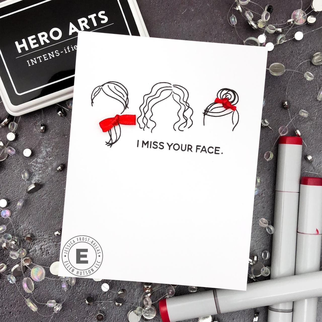 Mini Voices in My Head by Julie Ebersole, Summer of Stamping Clear Stamps -