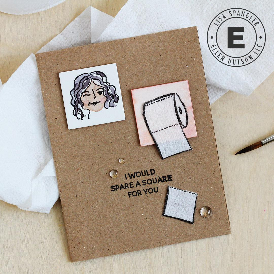 Voices in My Head Vol. 3 by Julie Ebersole, Summer of Stamping Clear Stamps -