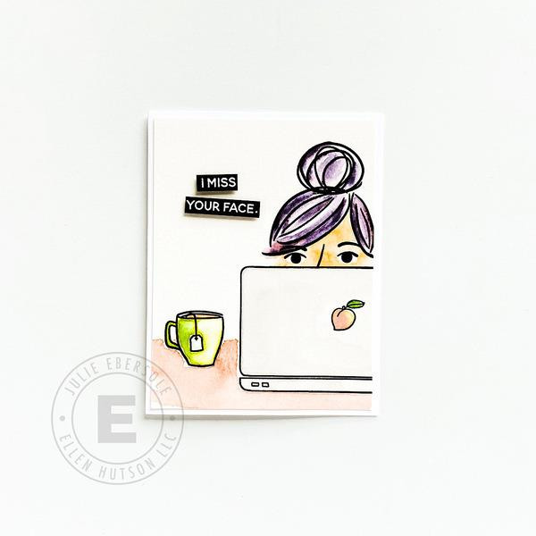 Voices in My Head Accessories by Julie Ebersole, Summer of Stamping Clear Stamps -