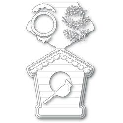 Bird House Pop Up Easel, Poppystamps Dies -