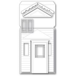 Winter Porch Pop Up Easel, Poppystamps Dies -