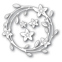 Magnolia Wreath, Memory Box Dies -