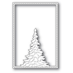 Single Pine Tree Frame, Memory Box Dies -