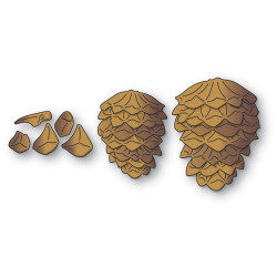 Pinecone Stackers, Memory Box Dies -