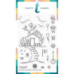 Treetop Adventure, Trinity Stamps Clear Stamps -
