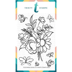 Blooming Bunch, Trinity Stamps Clear Stamps -