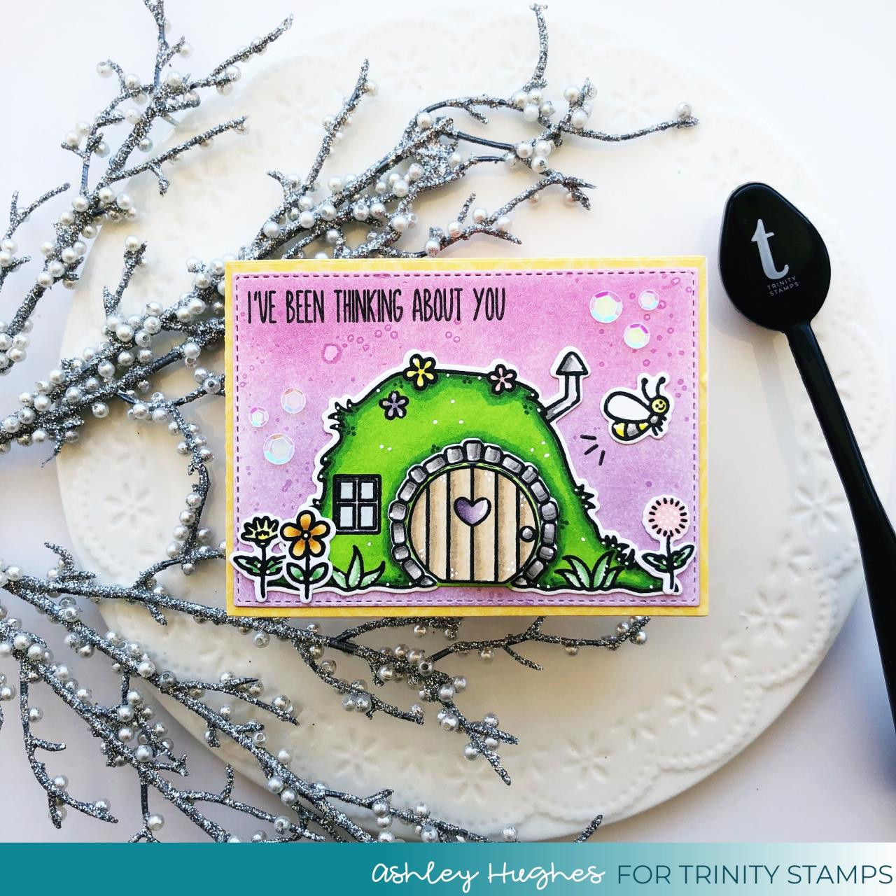 Bunny Burrow, Trinity Stamps Clear Stamps -