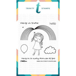 Hang On, Trinity Stamps Clear Stamps -
