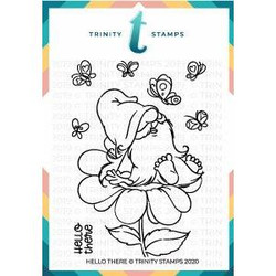 Hello There, Trinity Stamps Clear Stamps -
