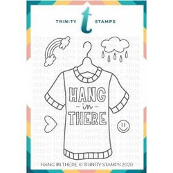 Hang in There, Trinity Stamps Clear Stamps -