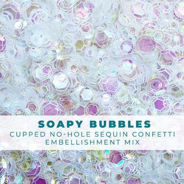 Soapy Bubbles, Trinity Stamps Embellishments -