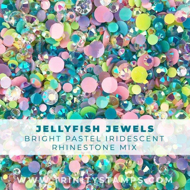 Jellyfish Jewels, Trinity Stamps Embellishments -