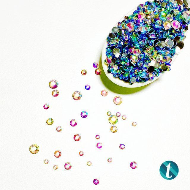 Rainbow Reflection, Trinity Stamps Embellishments -