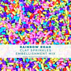 Rainbow Road, Trinity Stamps Embellishments -