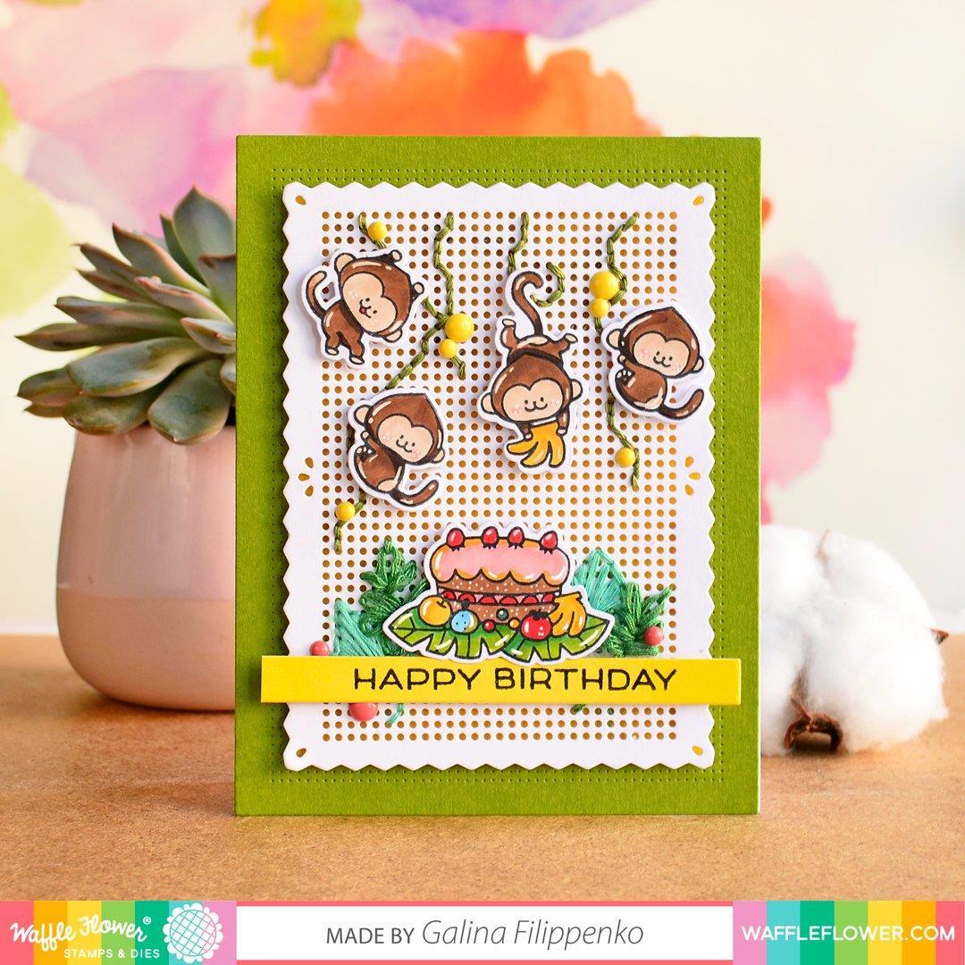 A2 Piercing Panel, Waffle Flower Dies - 780348638980