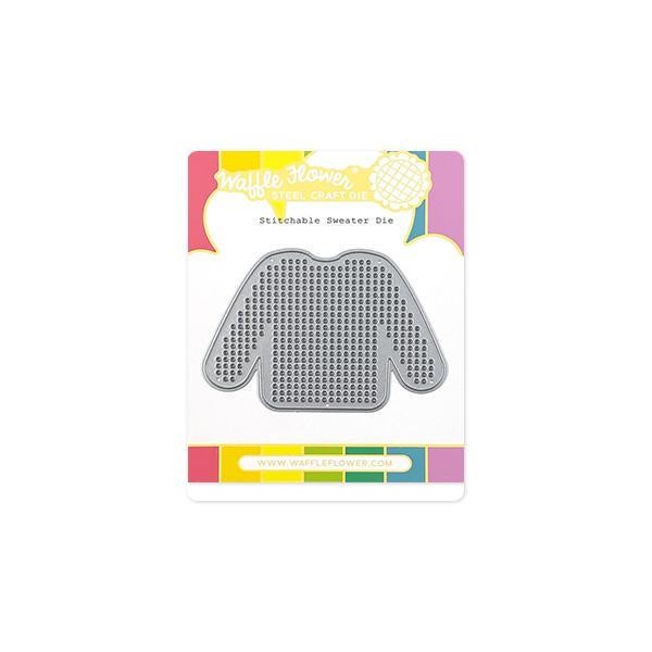 Stitchable Sweater, Waffle Flower Dies - 780348639253