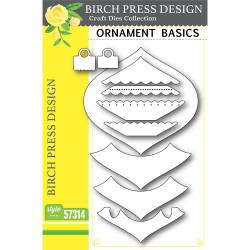 Ornament Basics, Birch Press Design Dies -