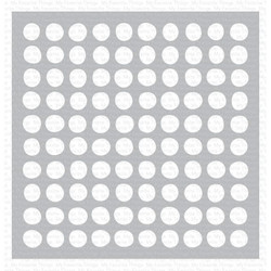 Wonky Dots, My Favorite Things Stencils - 849923036204