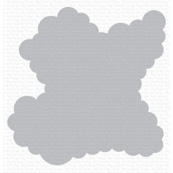 Rolling Clouds, My Favorite Things Stencils - 849923036211